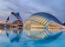 4 napos városnézés Valenciában, repülőjeggyel, 3*-os szállással, reggelivel