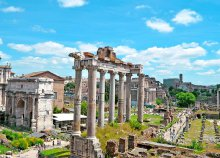 4 napos nyárbúcsúztató városnézés Rómában, repülőjeggyel, reggelivel, 3*-os szállással