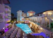 8 napos nyaralás a török riviérán, Sidében, a Merve Sun Hotel & Spában****