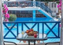 4 vagy 8 napos nyaralás Görögországban, Szantorinin, a Veggera**** Hotelben