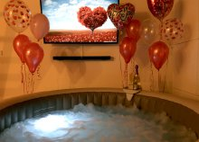 Romantika a HydroHome jóvoltából! 4-6 fős nagy jakuzzi az otthonodban 3 napra
