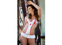 Lea erotikus ápolónő jelmez S/M