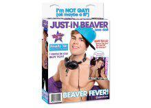 Just-in Beaver - felfújható PVC baba