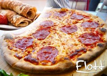 2 db pizza és 6 db palacsinta