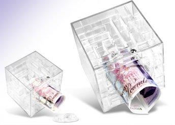 Money Maze labirintus persely