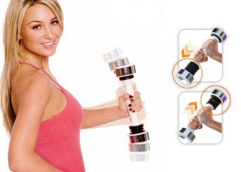 Vibráló kézi súlyzó, mely kiválóan formálja a felsőtestet és hatékonyabb, mint egy hagyományos súlyzó