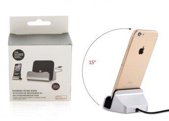 Iphone asztali töltő háromféle színben