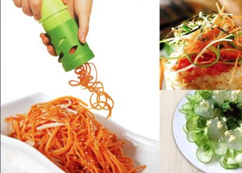 Veggies zöldség daraboló és spirálkészítő