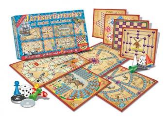 Klasszikus játékgyűjtemény az egész családnak