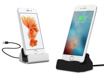USB csatlakozós asztali töltő Iphone-hoz