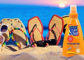 150 ml-es Dr. Kelen SunSave szúnyogriasztós napspray