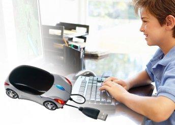 PC TRACKER optikai USB komputer egér