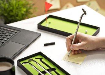 Mini golf toll szett