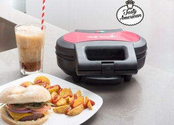 Tasty American hamburger készítő