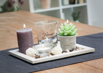 Homania Candles & Garden asztaldísz