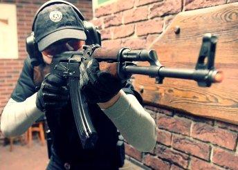 30 lövés AK 47-essel + 10 lövés Dragunovval