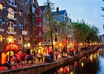 3 nap 2 személy részére Amszterdamban, reggelivel az Ozo Hotelben****