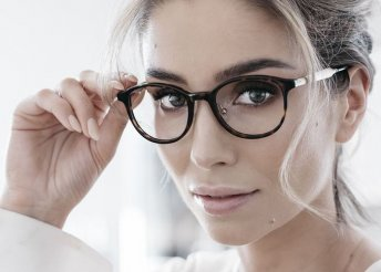 Komplett szemüveg vékonyított lencsével