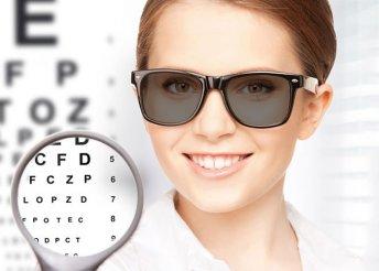 Fényre sötétedő lencséjű szemüveg