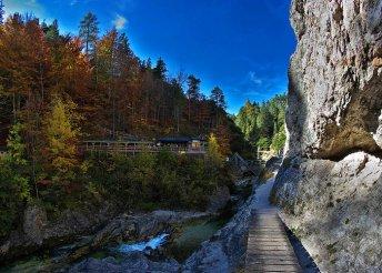 Barangold be Ausztria bámulatos szurdokvölgyét