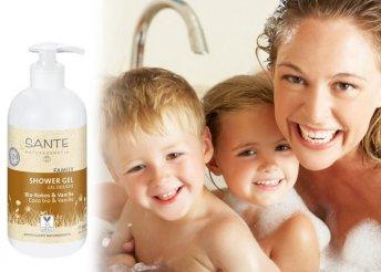 Bio Sante tusfürdő kókusz és vanília illattal 500 ml-es