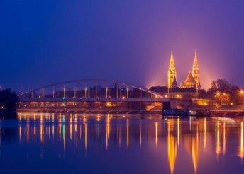 Városnézés és fürdőzés Szegeden