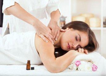60 perces relaxációs aromaterápiás masszázs