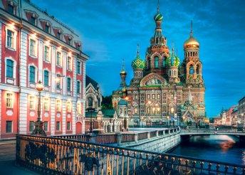 Körutazás Oroszországban – 8 nap 3-4*-os hotelben