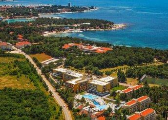 8 nap az Adriai-tengernél, a Sol Garden Istra****-ban félpanzióval
