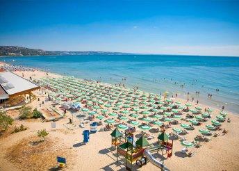 8 nap 2 főre Naposparton, repülővel, all inclusive ellátással az Aquamarine Sunny Beach**** hotelben
