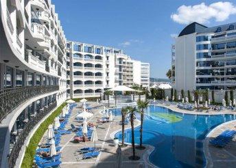 8 nap 2 főre a bulgáriai Naposparton, a Chaika Resortban****-ban, all inclusive ellással, repülővel