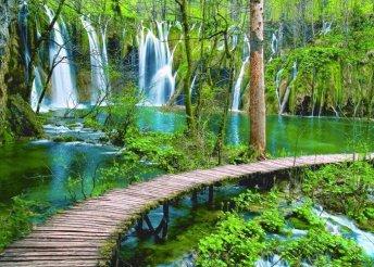 Kirándulás a Plitvicei-tavakhoz és a tengerhez