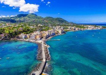 Mediterrán kalandok a Nápolyi-öbölben – 6 nap 3*-os hotelben, repülős utazással