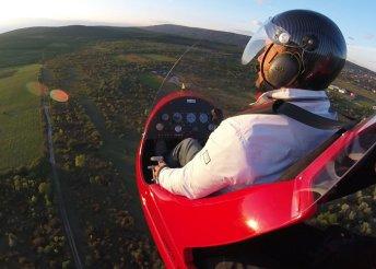 Repülés a felhők felett girokopterrel