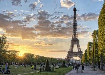 Városlátogatás Párizsban 2 főnek, repülőjeggyel