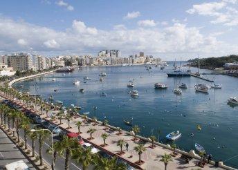 Csúcsélmények Máltán: 8 nap 1 főnek 3*-os hotelben, reggeli és repülőjegy