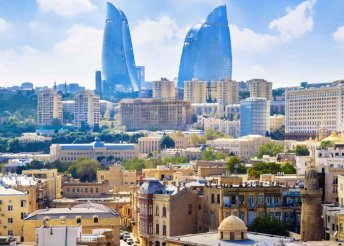 Járd be Azerbajdzsán fővárosát, Bakut - 2 fő részére
