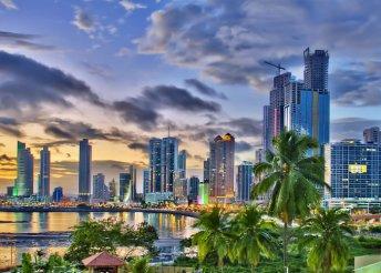 Körutazás Közép-Amerikába szállással, repülőjeggyel, reggelis ellátással