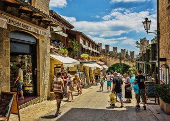 Olasz körutazás 1 személy részére teljes panziós ellátással
