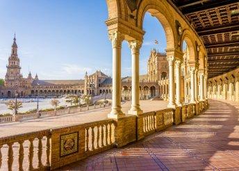 Ragyogó élmény Spanyolországban - Nagykörút utazással, szállással, félpanziós ellátással 1 személy részére
