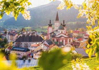 Egy napos festői városnézés Ausztriában, Mariazellben egy személy részére