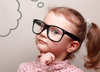 Gyerekszemüveg márkás, strapabíró kerettel