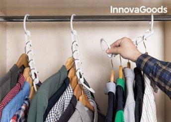 InnovaGoods vállfarendező 40 db ruhához