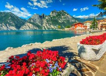 Pihenés a Garda-tónál, romantika Veronában