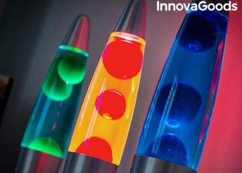 InnovaGoods magma lávalámpa 3 színben