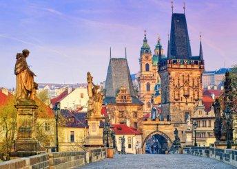 Vár Prága, az ezer torony városa