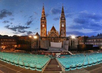 Pihenés Szeged belvárosának szívében