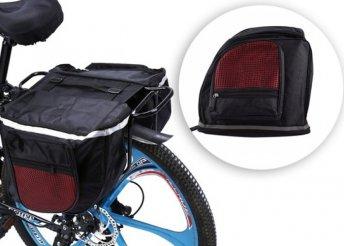 25 literes dupla kerékpáros táska