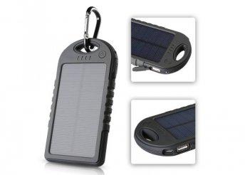 3000mAh-es napelemes külső akkumulátor