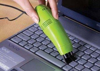 USB-s mini billentyűzet-porszívó